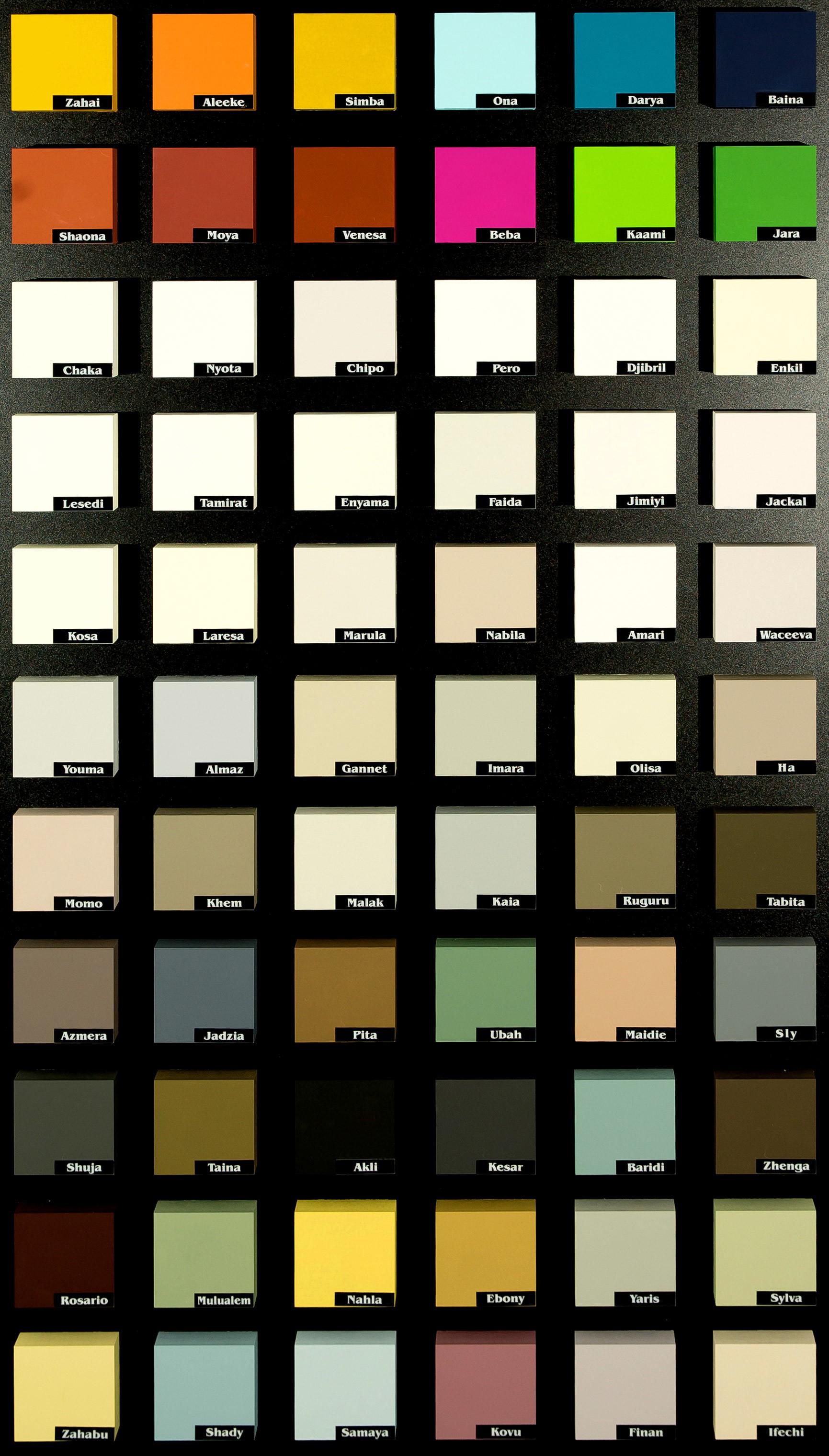 Farbtafel