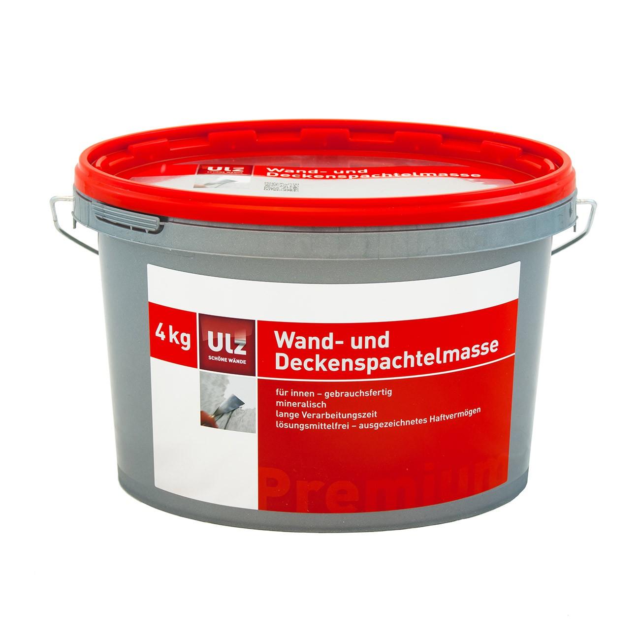 Wand- und Deckenspachtelmasse 4kg